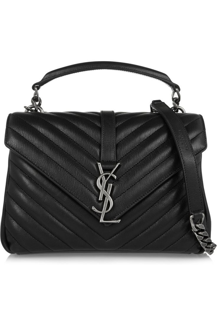 Saint Laurent Black College Medium Leather shoulder bag Outlet Cheap Price Low Price Cheap Price Low Shipping Fee Online Buy Cheap Perfect Buy Cheap Marketable LY6GJ