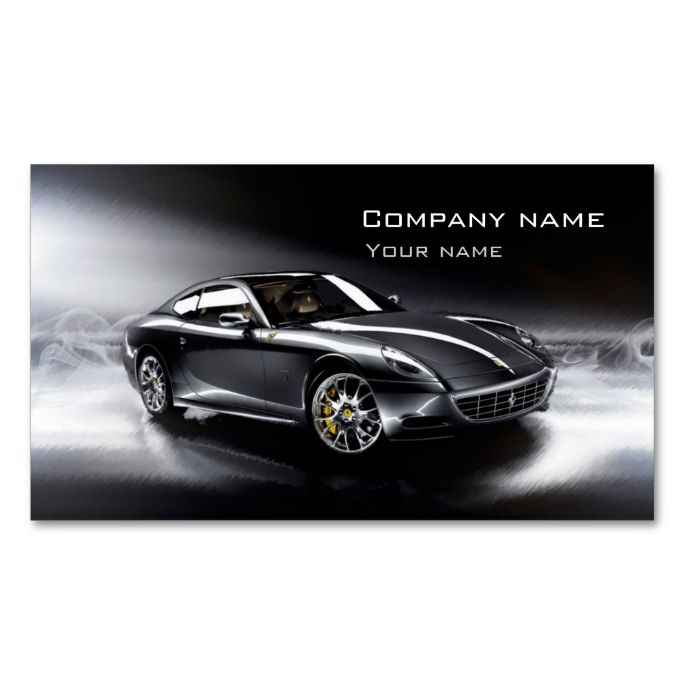 Stylish automotive business card make your own business card with stylish automotive business card make your own business card with this great design all reheart Image collections