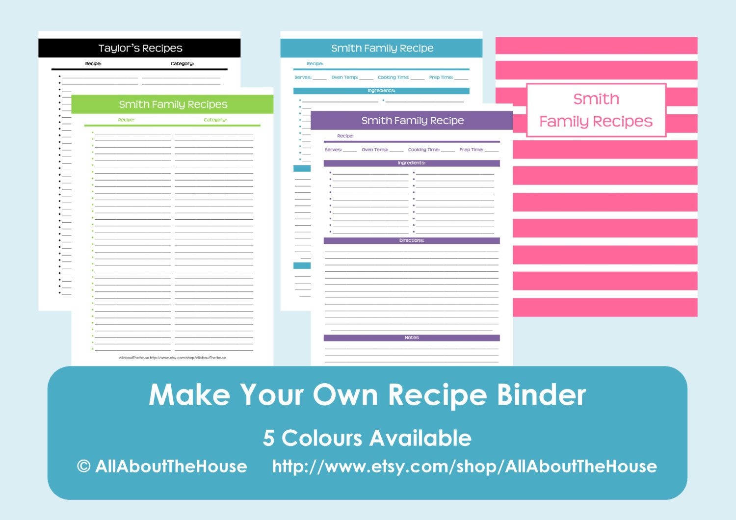 editable recipe page template koni polycode co