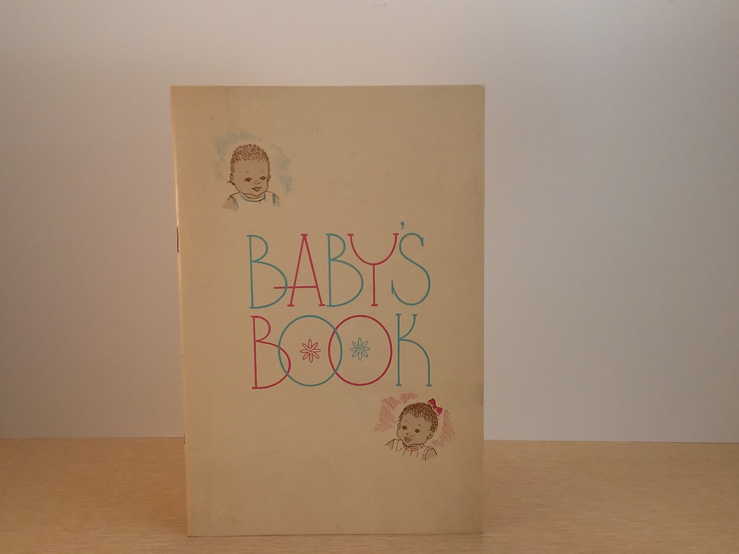 Vintage African American Baby Book Unused Baby Book From
