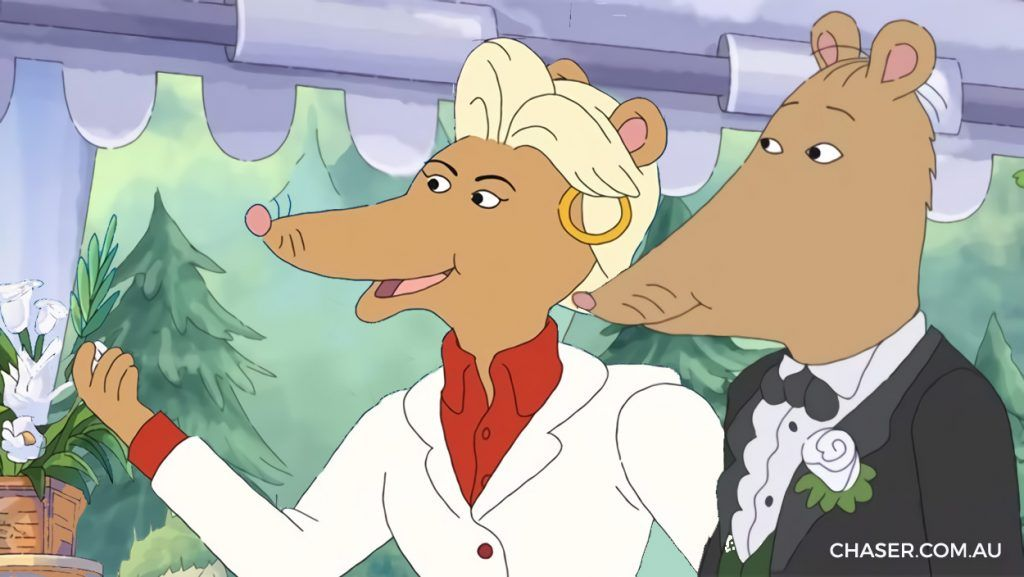 Alabama Approves Edited Arthur Episode In Which Ratburn Marries