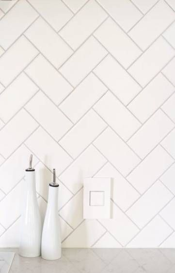Kitchen backsplash white subway tile master bath 68  Ideas #whitesubwaytilebathroom