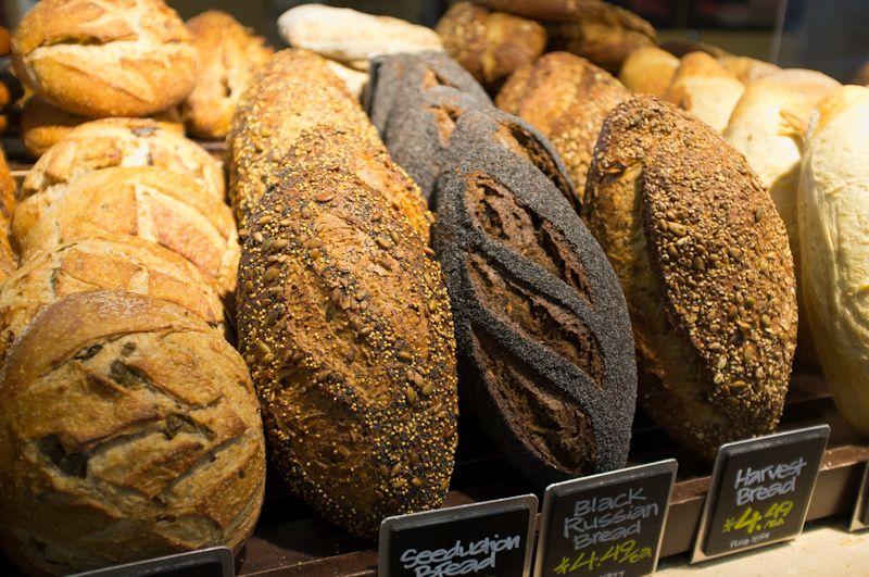 Freshbaked bread at whole foods clarendon arlington va