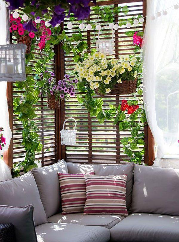 Balkonunuza Hava Getirin | DDekor-Dekorasyon Fikirleri #balkondeko