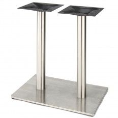 Our High Quality Stainless Steel Square Style Table Base From The Rsq Series Is Perfect For Indoor And Outdoor Use In Any Dining Restaurant