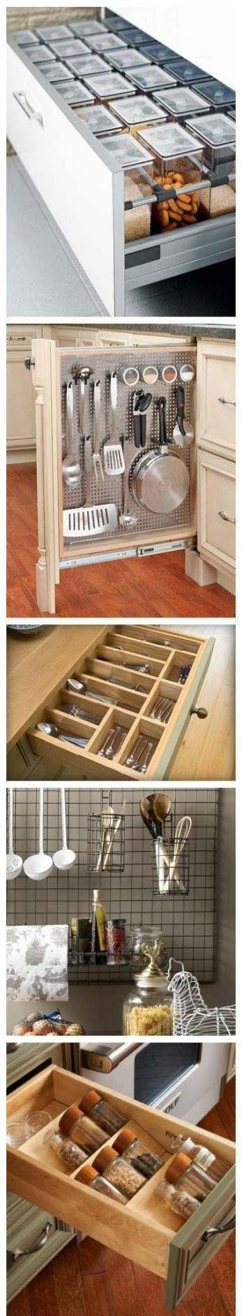 Best 45 Trendy Ideas For Kitchen Cabinets Organization Diy 400 x 300