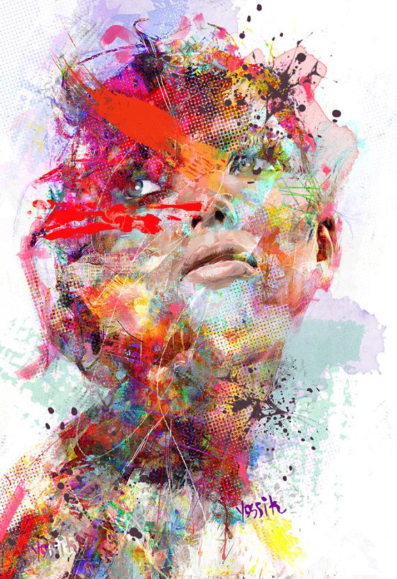 Giclee print embellie sur toile de haute qualit for Peinture de qualite