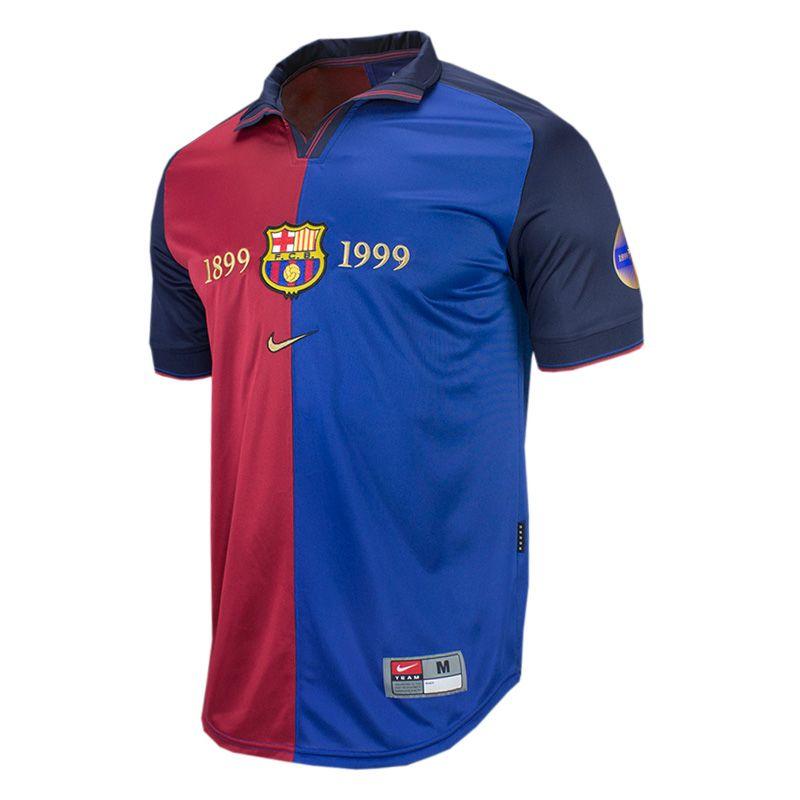 info for e15c2 62ff4 Nike FC Barcelona 1999 Centennial Soccer Jersey | Sports ...