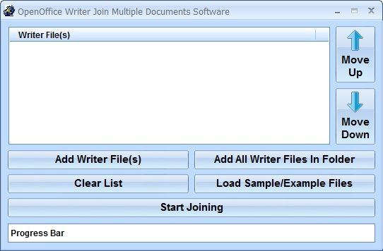 This Software Offers A Solution To Users Who Want To Merge Two Or More Open Office Writer Documents Into One The User Simply Software Software Offers Multiple