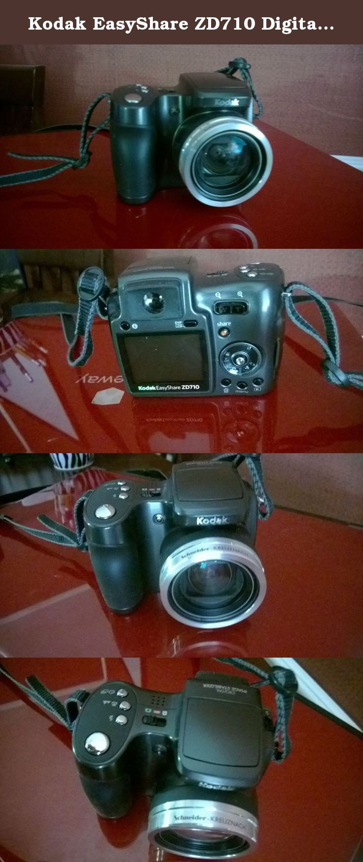 Kodak EASYSHARE ZD710 Digital Camera Windows Vista 64-BIT