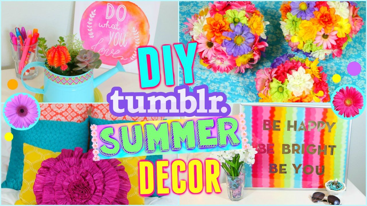 Diy Summer Room Decor Ideas Make Your Room Cute For Summer