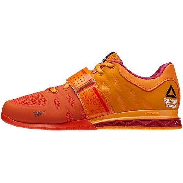 2f1f9cac6c95 Reebok Women's CrossFit Lifter 2.0 Style #: M43660 in Orange Orange Magenta  | Reebok CrossFit Olympic Weightlifting Shoe available at www.