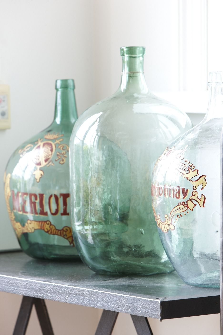 Garrafas Antiguas Vidrio Reciclado Vintage Bottles