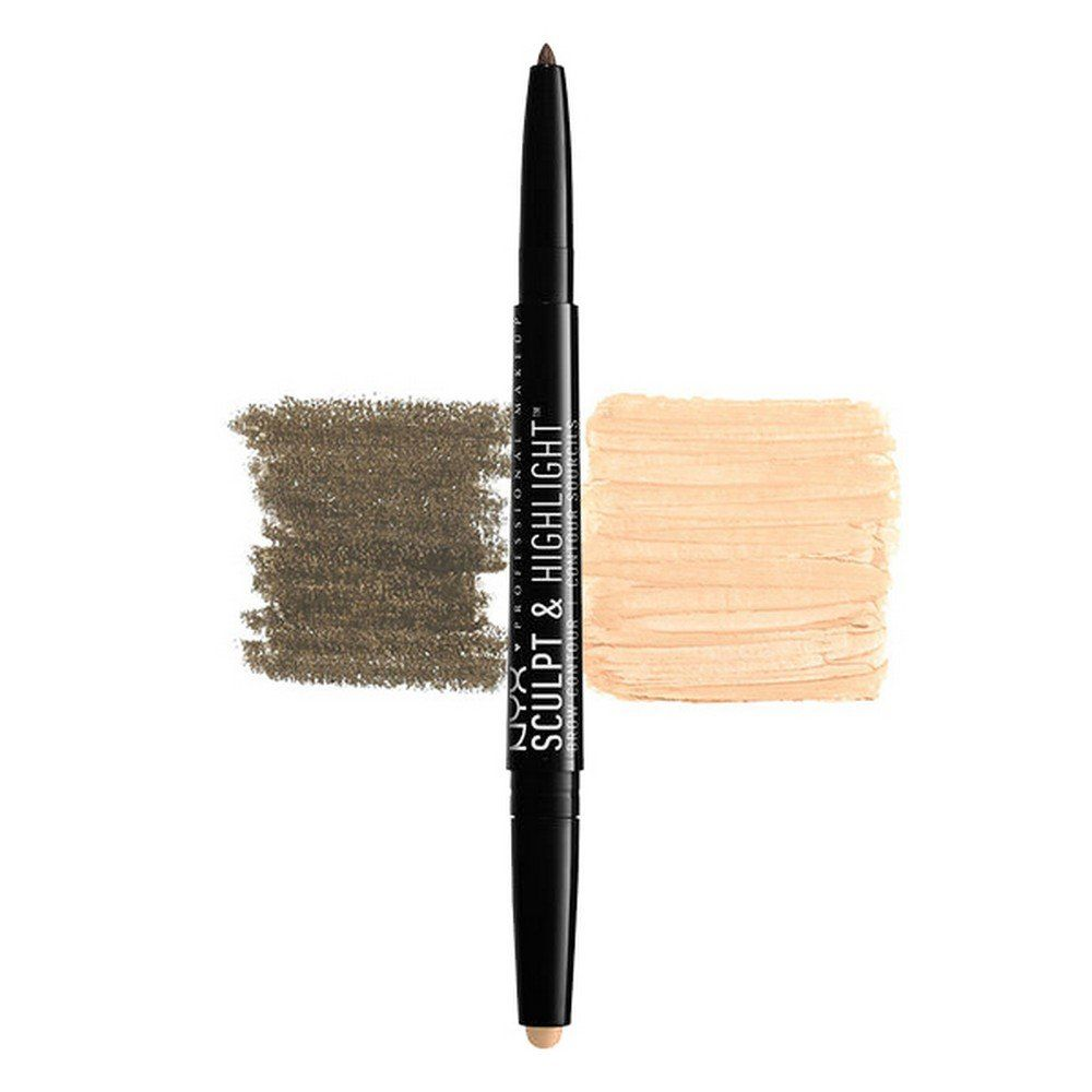 Nyx Professional Makeup Sculpt And Highlight Brow Contour Brunette Cream Check Out This Great Product How To Color Eyebrows Nyx Professional Makeup Makeup