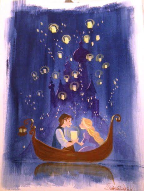 Rapunzel and Flynn - Tangled
