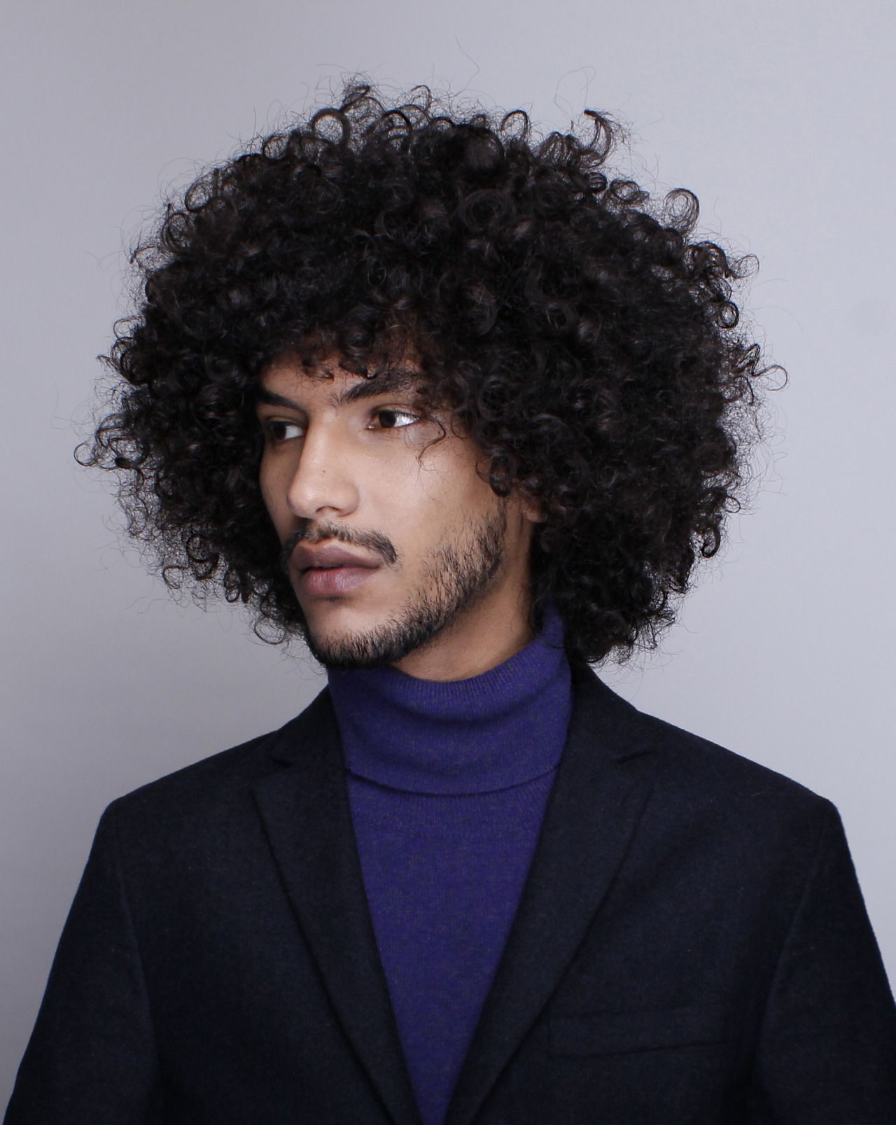 Curly haircuts black men new post on blackfashion  curly  pinterest  black men haircuts