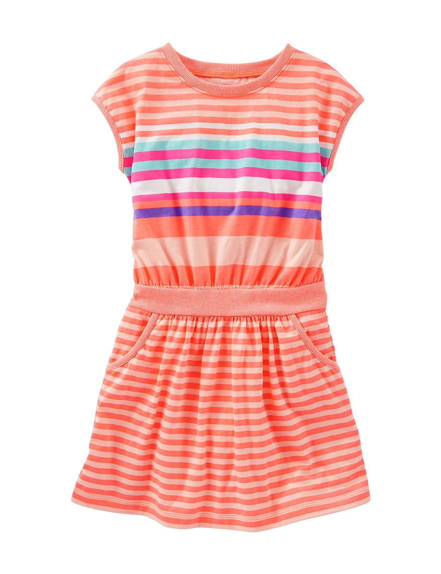 b63f6b9a9c5c Shop today for OshKosh B gosh® Striped Rib Knit Dress – Girls 4-6x ...