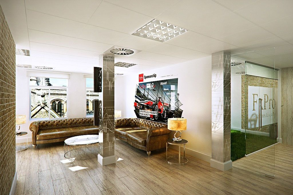 Modern unconventional space design office interior awesome - Office space interior design ideas ...