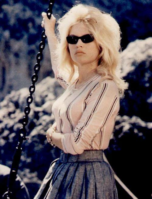 """Brigitte Bardot in Contempt (1963) """