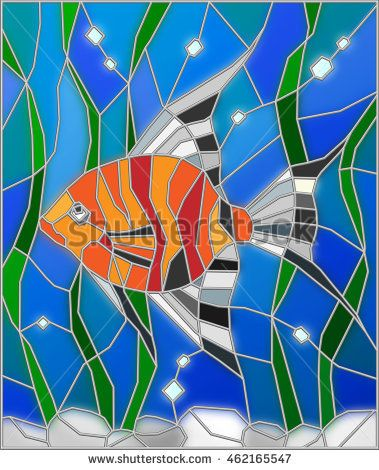Image result for stained glass tropical patterns #tropicalpattern