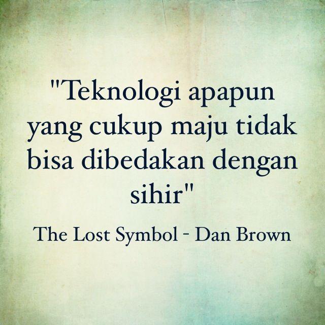 The Lost Symbol Dan Brown Kutipan Dari Buku Pinterest Symbols