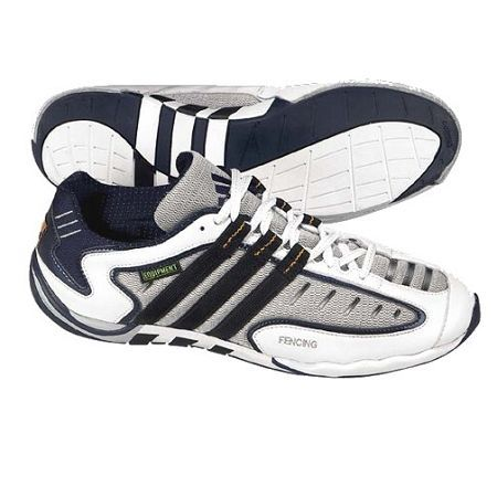 Adidas Equipment SHOES-Adidas Equipment Shoes These shoes, from the world  famous brand, Adidas, are often viewed as the greatest fencing shoes ever  made.