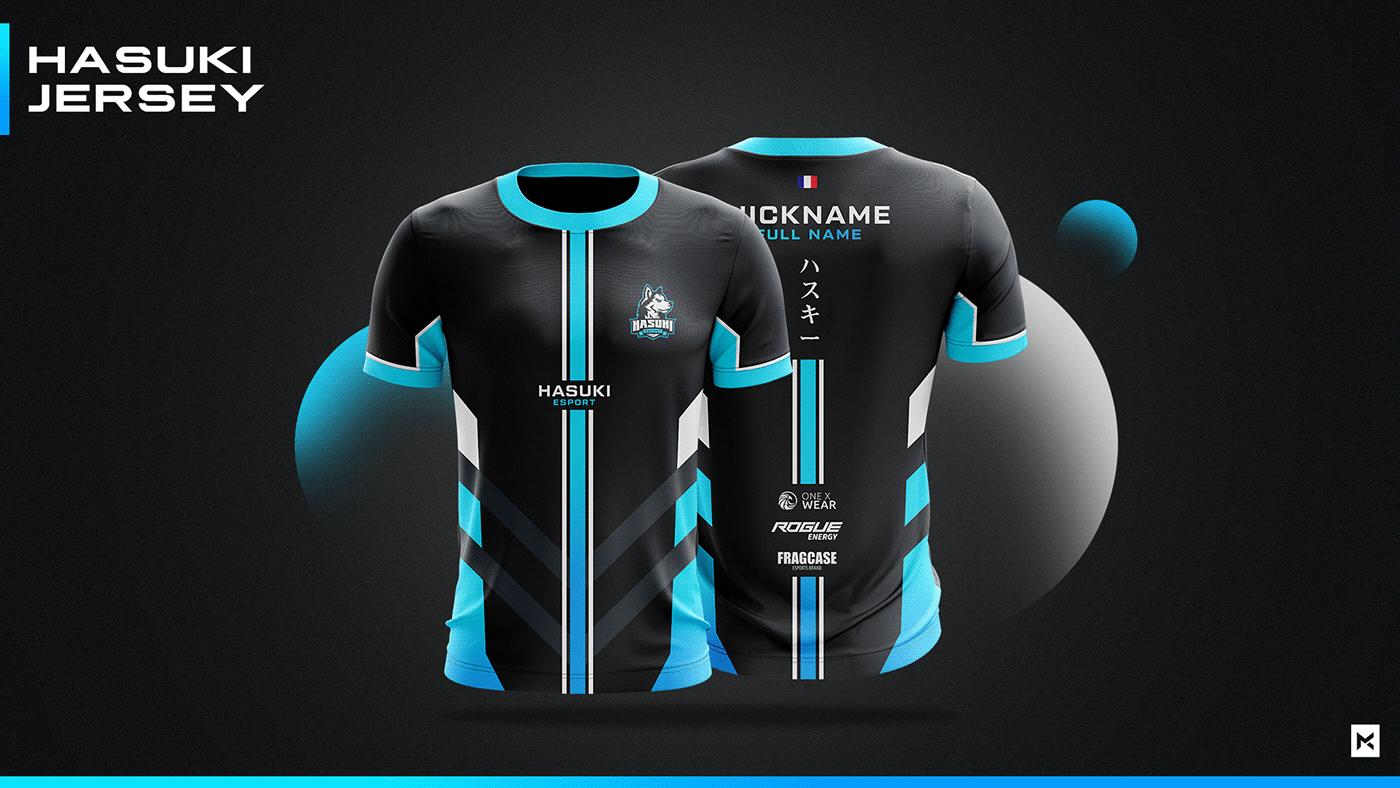Download Jersey Esport Team Mockup On Behance Jersey Design Sport Shirt Design Free T Shirt Design