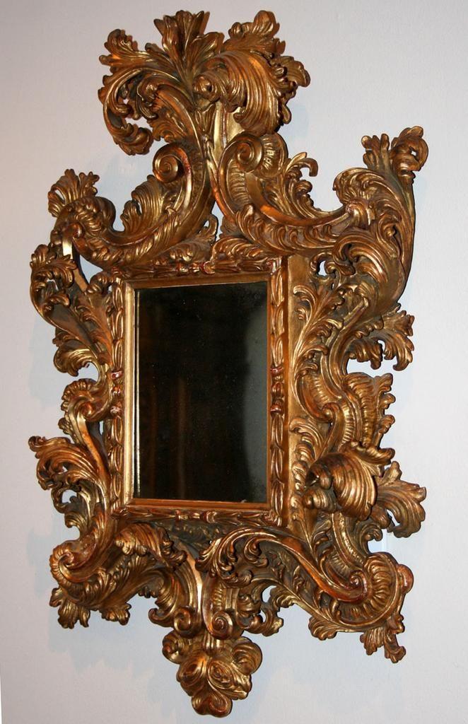 Italian baroque mirror mirrors pinterest see best for Italian baroque mirror