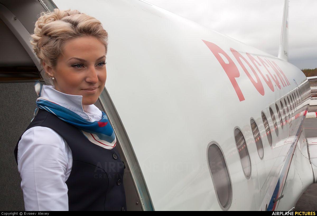 Rossiya VQ-BAS aircraft at St. Petersburg - Pulkovo