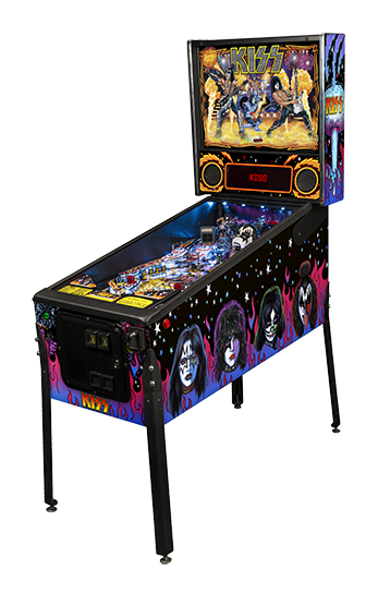The New KISS pinball machine !