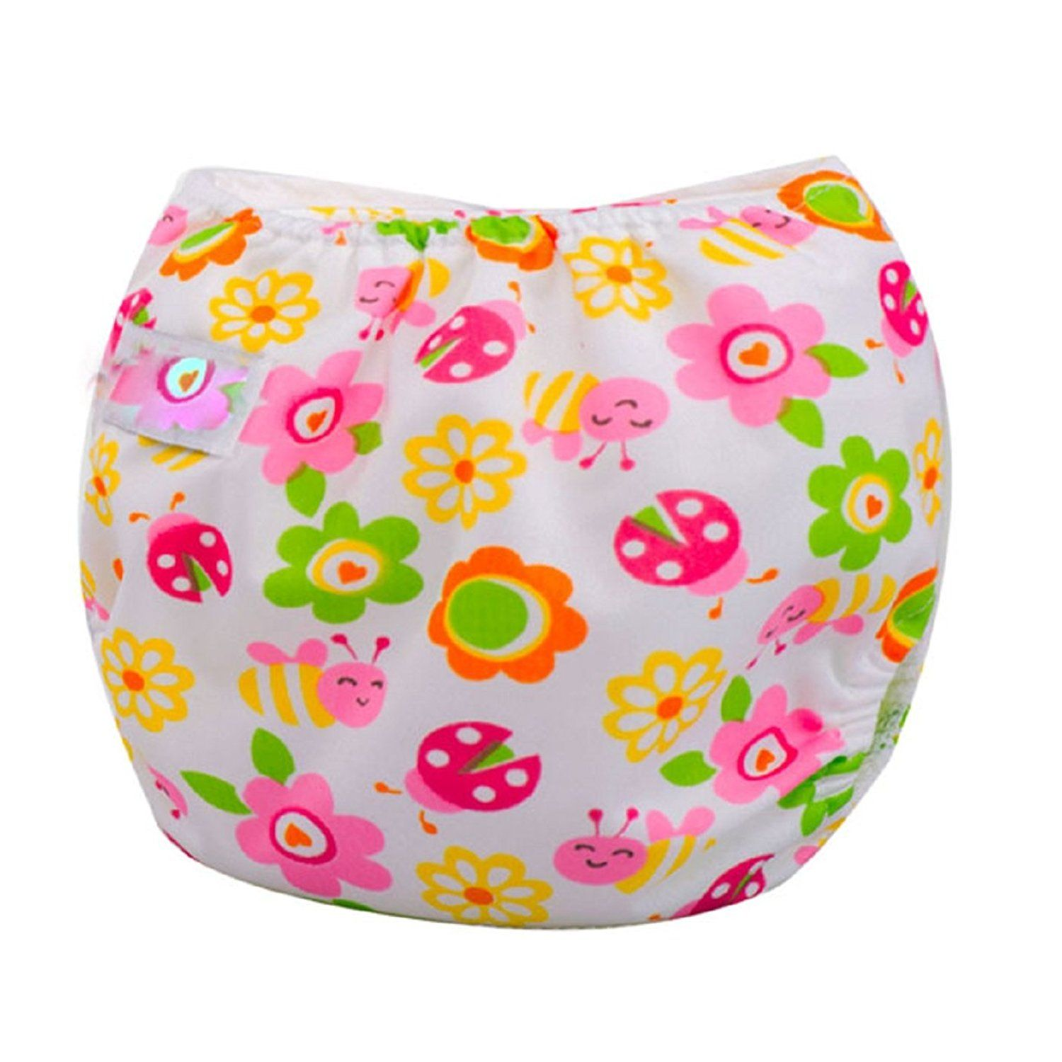 Reusable Washable Baby Infant Cloth Diaper Kids Nappy Cover Adjustable DiapersLH