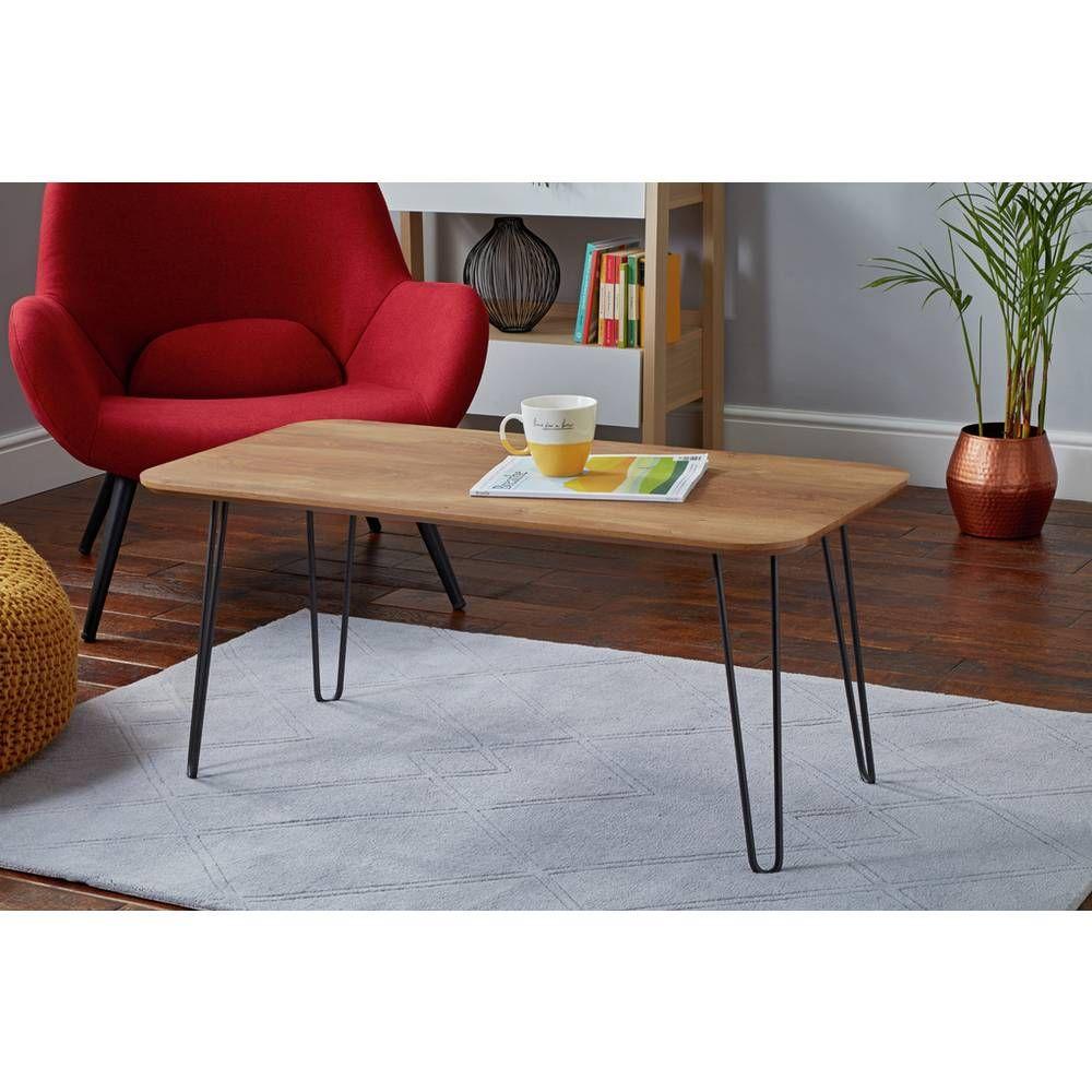 Buy Argos Home Klark Hairpin Coffee Table Dark Wood Effect Coffee Tables Argos Coffee Table Coffee Table Argos Hairpin Coffee Table [ 1000 x 1000 Pixel ]
