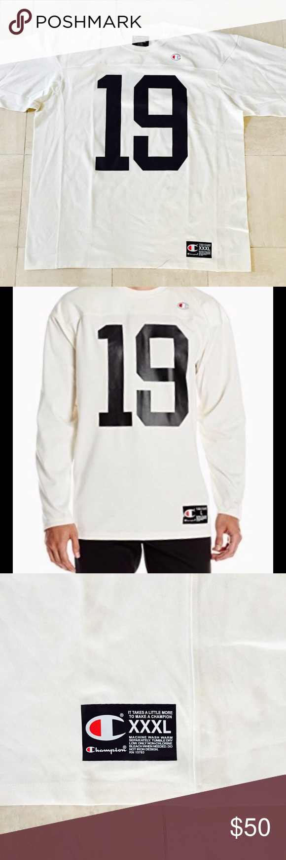 Tee Shirts · Life · Champion Life Men s Football Jersey Champion Life Men s  Football Jersey  Never worn e31af9eda