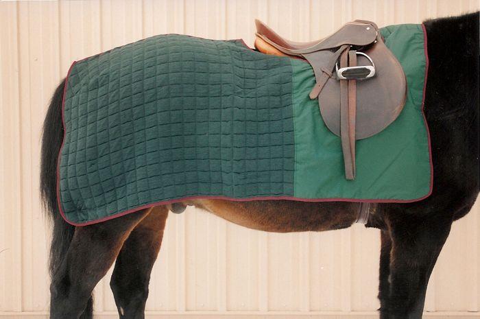 Horse Blanket Thermatex Nordic Quarter Sheet Size Large