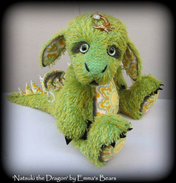 Soft Sculpture DRAGON PATTERN by Emma\'s Bears - Instant PDF ...
