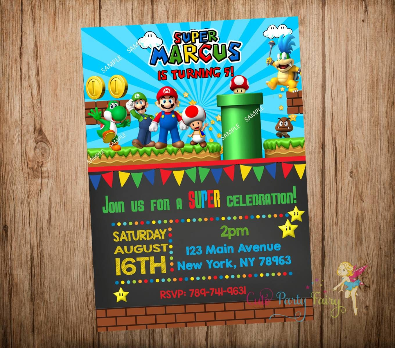 Super Mario Game Invite - Google Search
