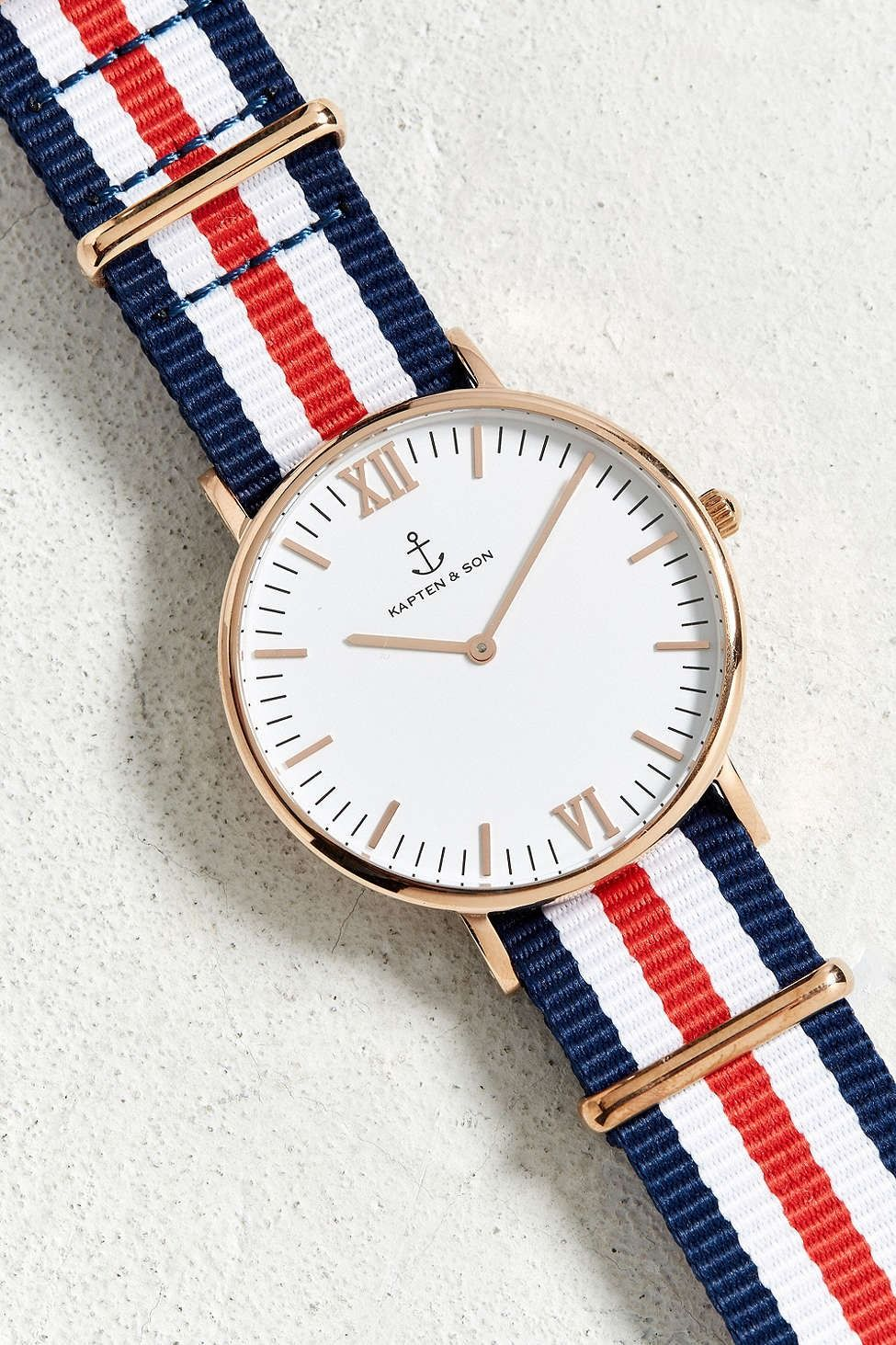 Kapten & Son Campus Nylon Strap Watch - Urban Outfitters