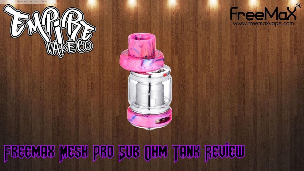 Freemax Mesh Pro Tank Review Flavour Forever!! Hello