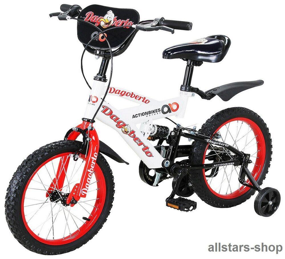 Actionbikes Kinderfahrrad Fahrrad A Dagoberto A 12 Zoll Rot Weia