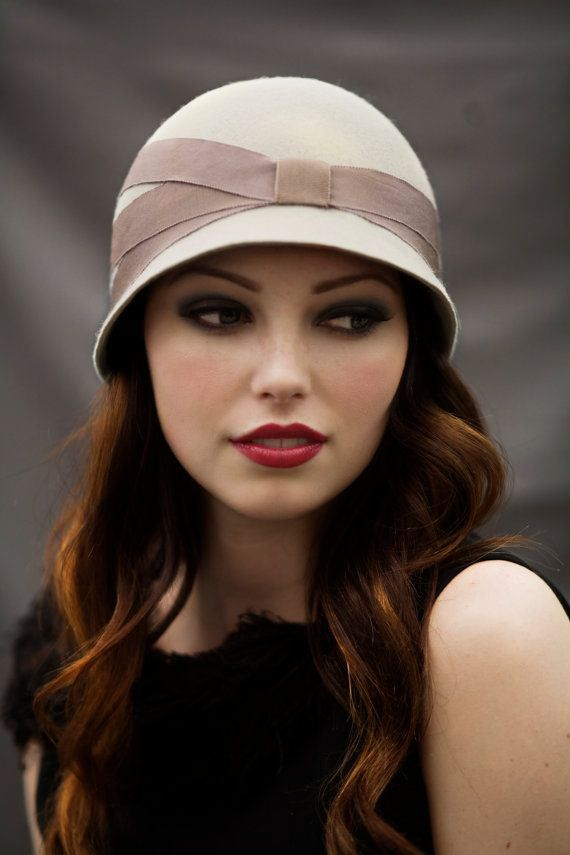 Tendance mode vintage Mode vintage Hats, Cloche hat et