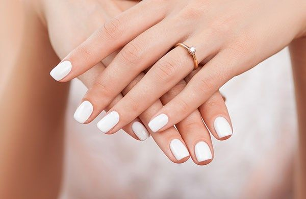 White Nail Design Ideas Are Especially Por Since There Is A Growing Trend For Simplicity And Naturally Looking Manicure