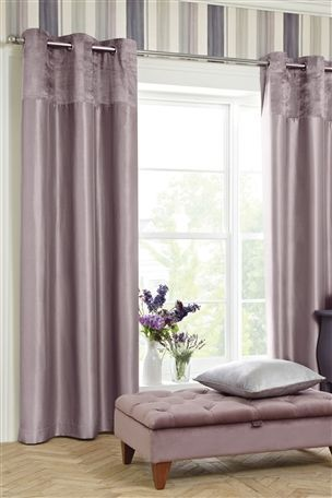Buy Mauve Ella Eyelet Curtains From The Next UK Online Shop Living Room