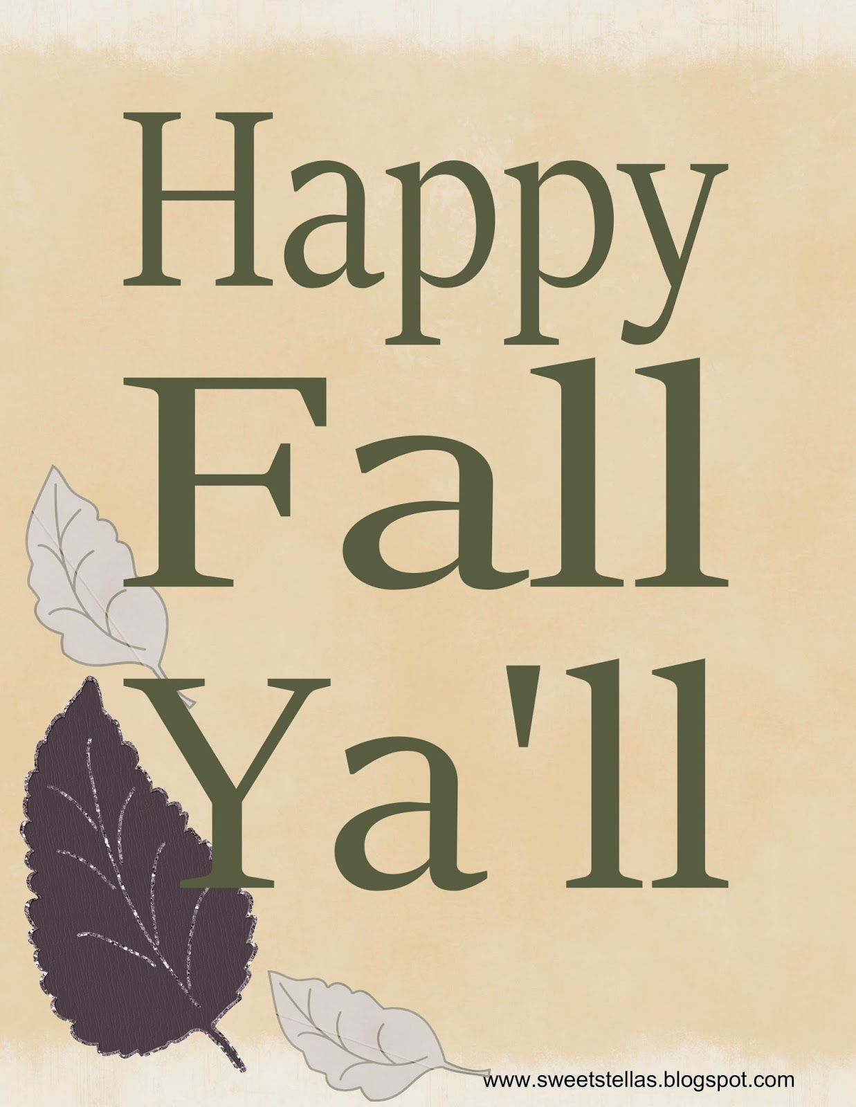 Sweet Stella S Fall Harvest Free Printable