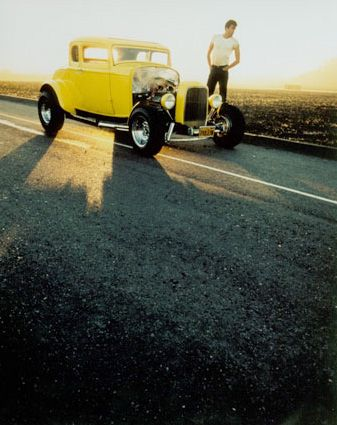 And who could forget the most famous hot rod.... the Deuce from American Graffiti. I tip my hat to you.