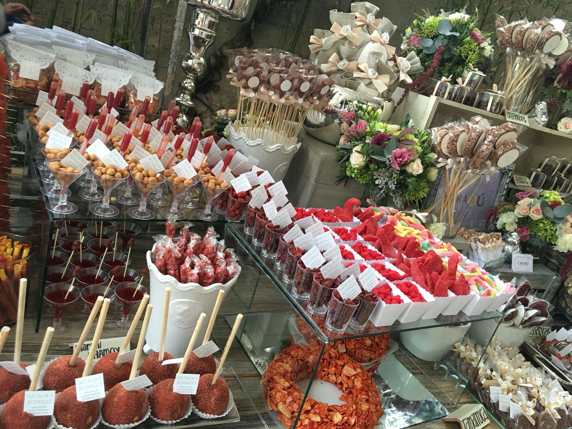 Carabu mesas de dulces postres y enchilados pinterest for Mesas de dulces para bodas precios
