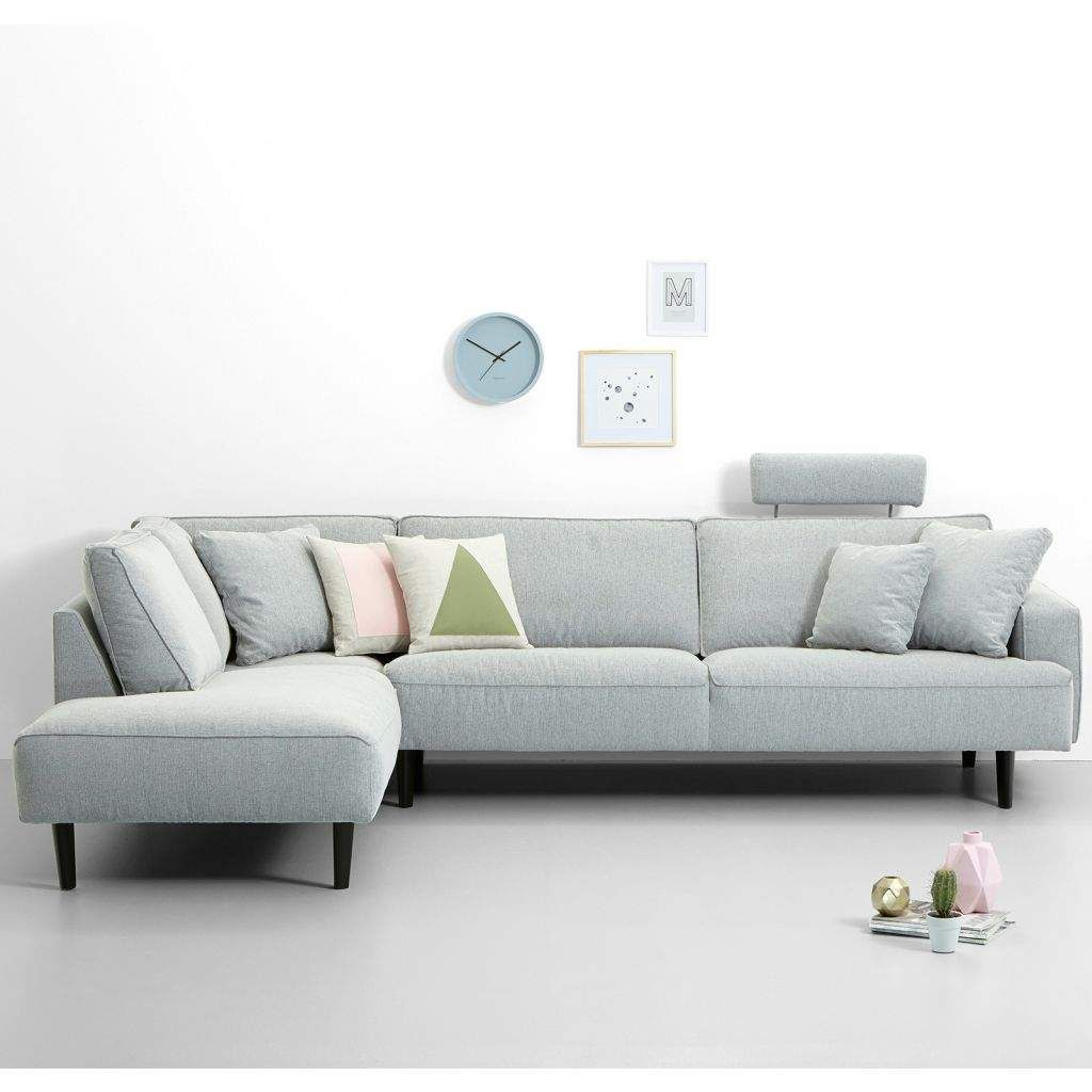 Bank Met Chaise Longue Links Lichtgrijs Bankstel Top Hoekbank Met Chaise Longue