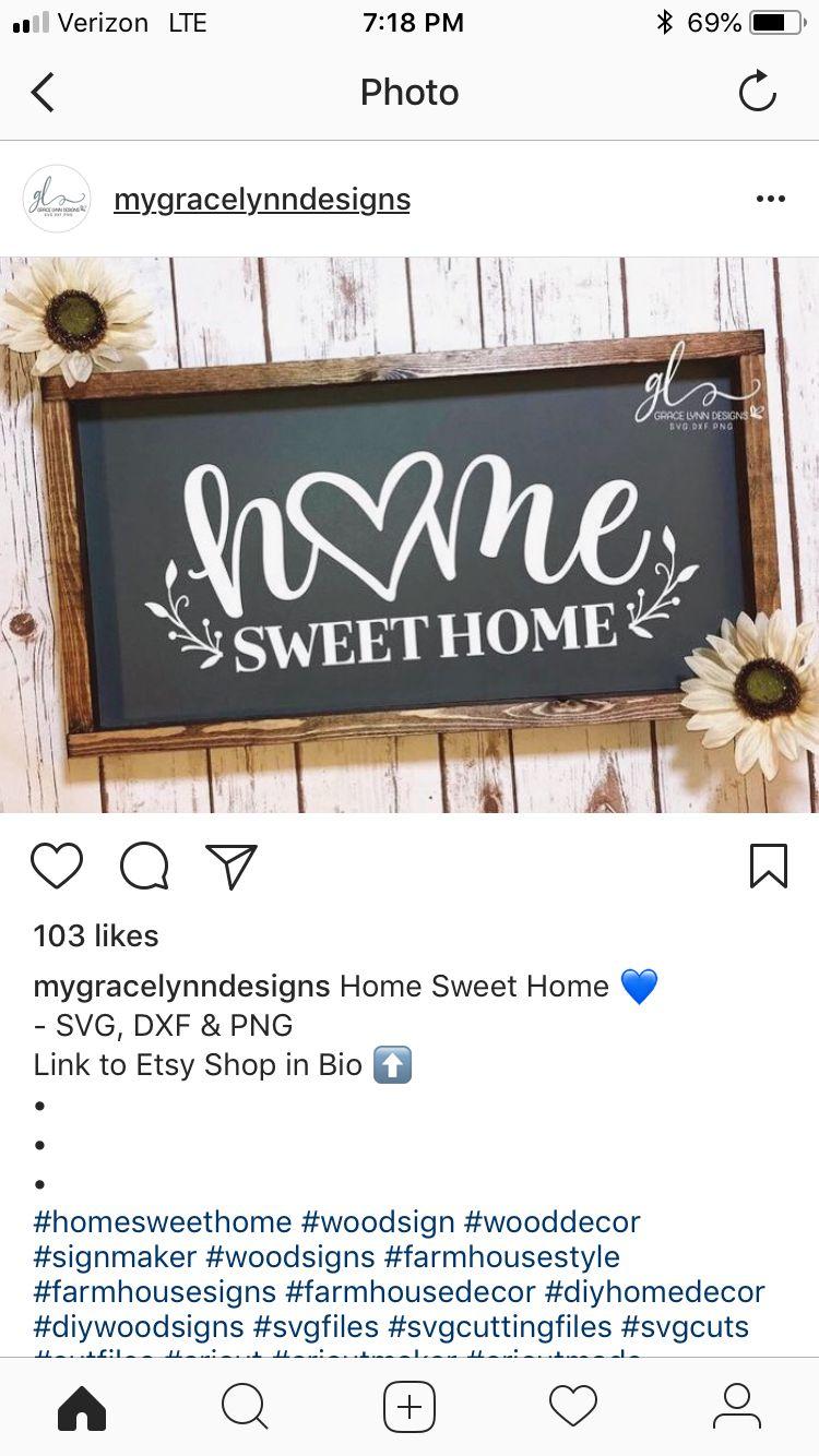 Home Sweet Home For Winter Break Art Diy Wood Signs Wood Signs For Home Homemade Signs