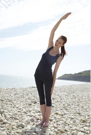 From Clothing – Organic Cotton 3/4 Yoga Leggings – Urban Market