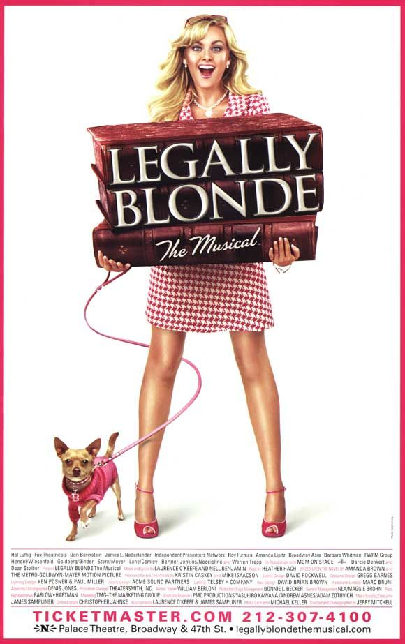 legally blonde the musical must see musicals west end broadway theatre
