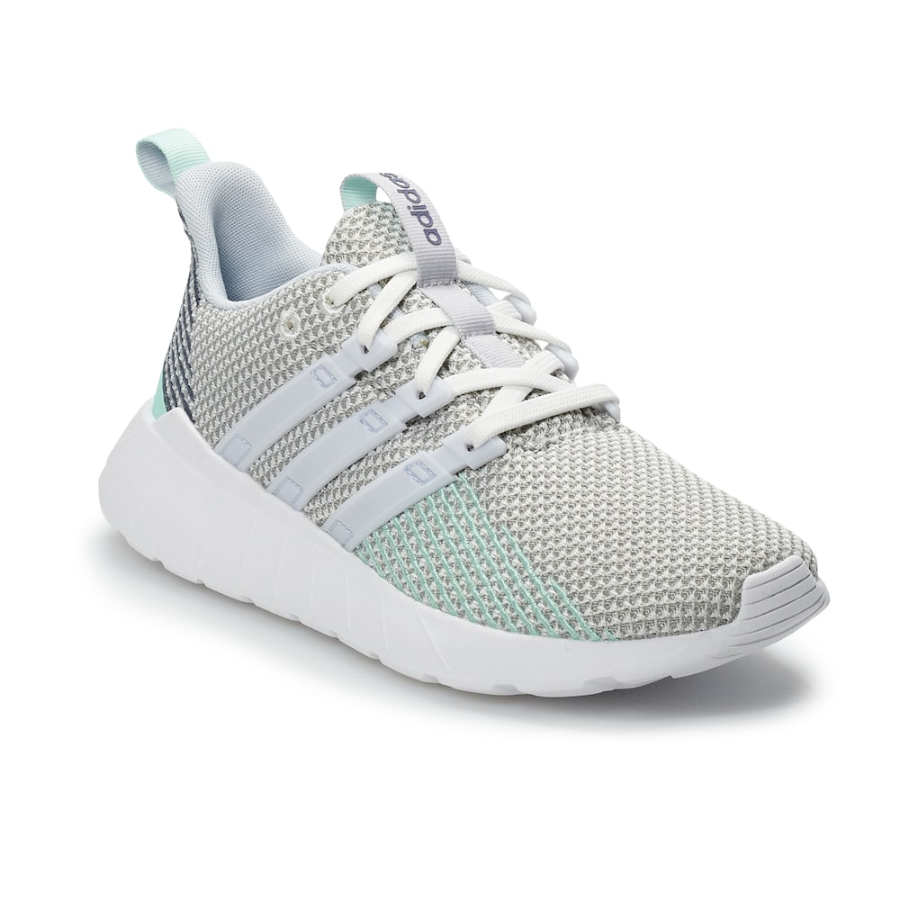 Adidas Questar Flow Boys Sneakers Girl S Size 5 White Girls